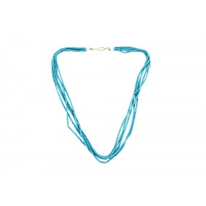 Turquoise Gemstone Beads Necklace