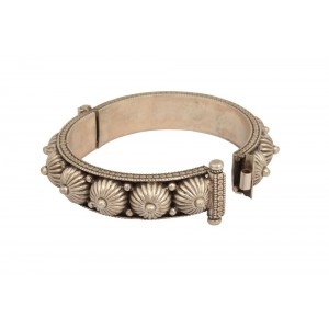 Silver Traditional Tribal Bangle