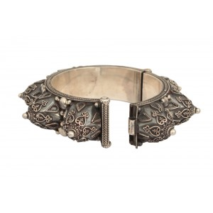 Silver Antique Traditional Tribal Bangle