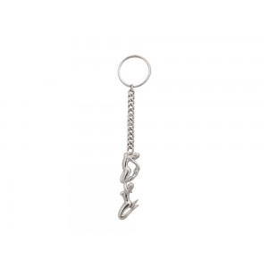 Silver Virgin Ladies Key Chain