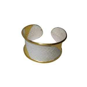 Silver Gold Plated Handcraft Handcuff