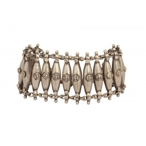 Silver Antique Tribal Bracelet