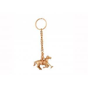 Silver Polo Series Key Chain